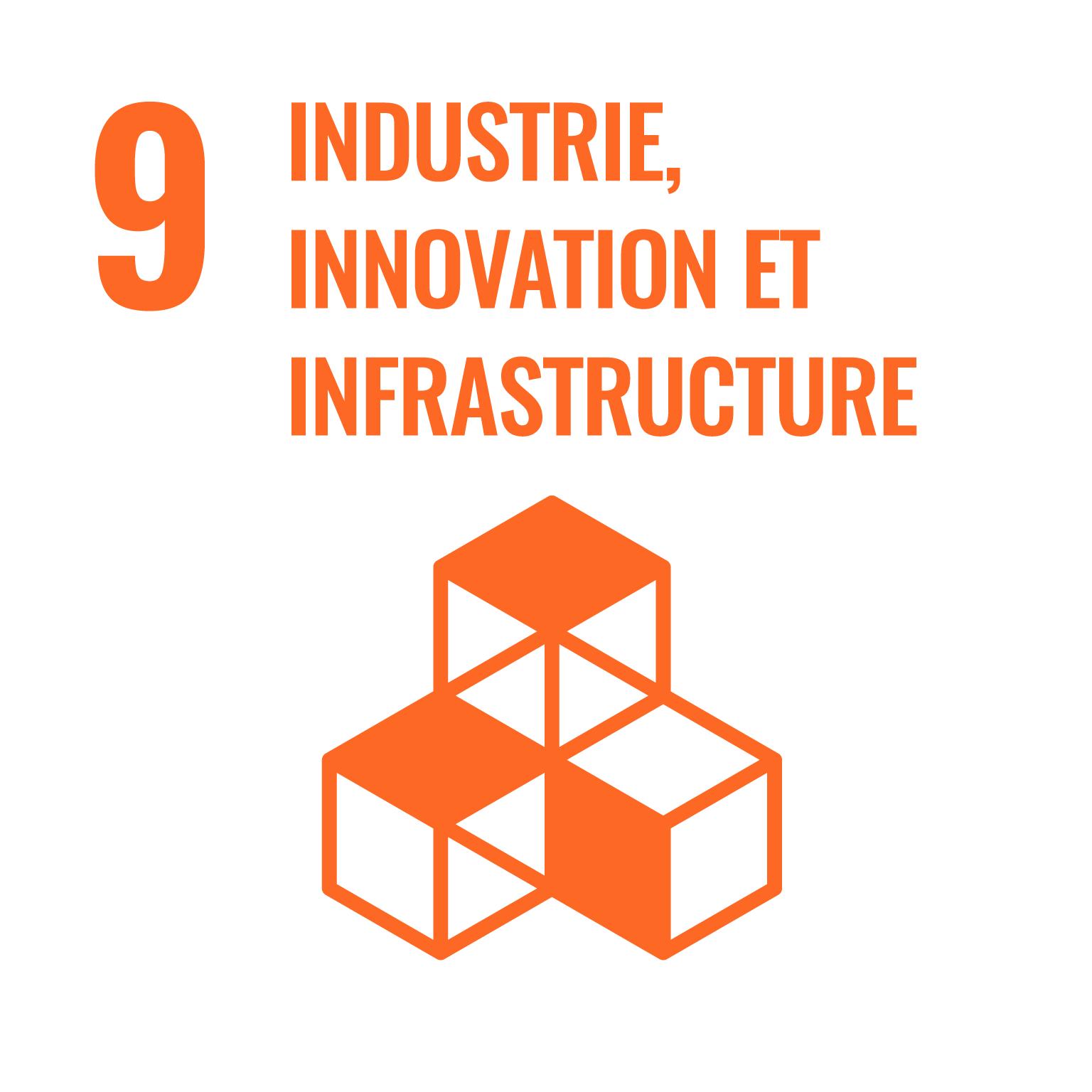 industrie, innovation et infrastructure.