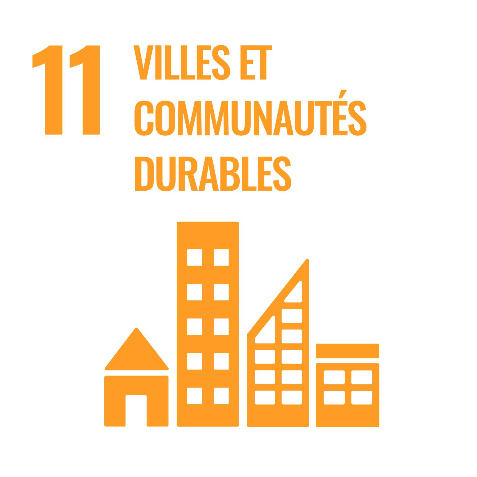 villes et communautés durables.