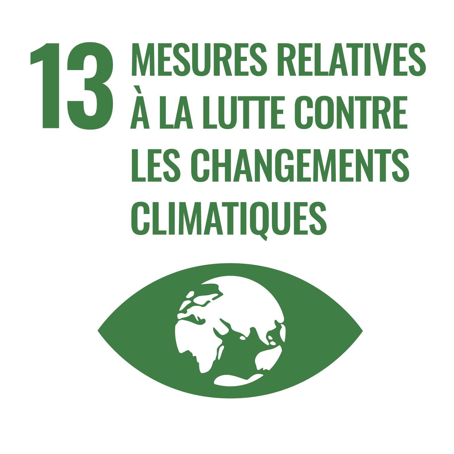 mesures relatives à la lutte contres les changements climatiques.